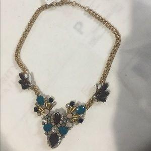 J.Crew Multi-stone Necklace Clasp closure